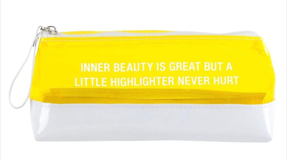 A Little Highlighter Never Hurt Anything Bag