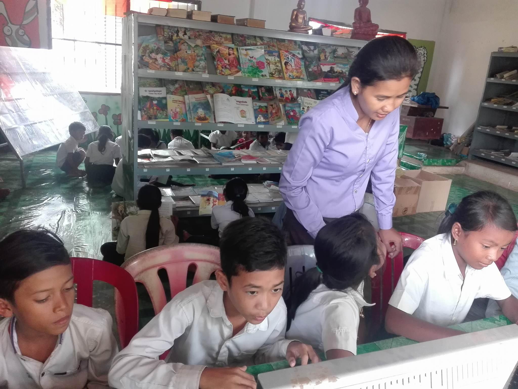 Library in Cambodia