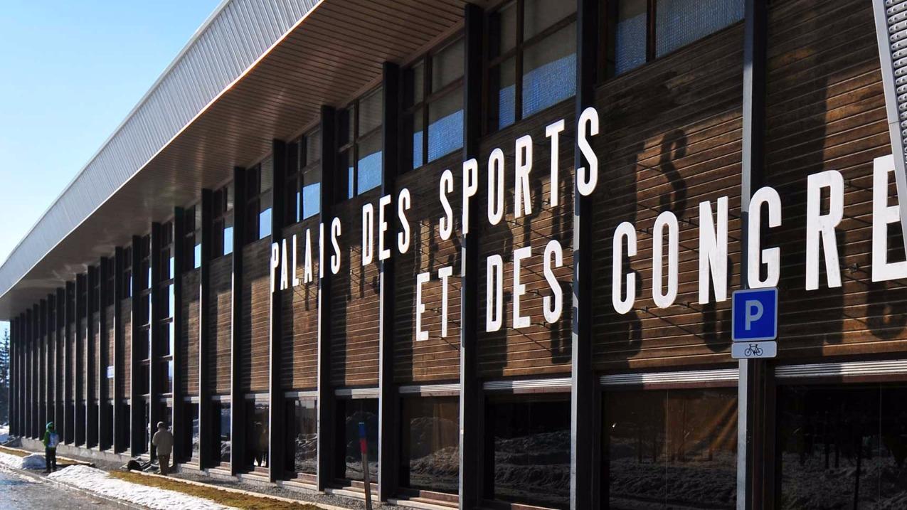 Le Palais des Sports de Megève