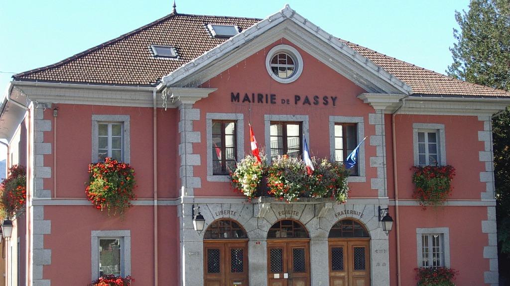 La mairie de Passy