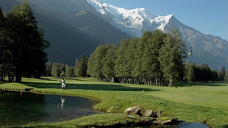 Le golf de Chamonix