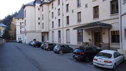 Le parking privée