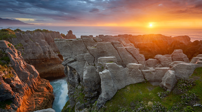 new zealand pancake rocks