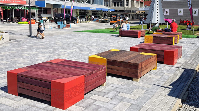 Greymouth Town Square