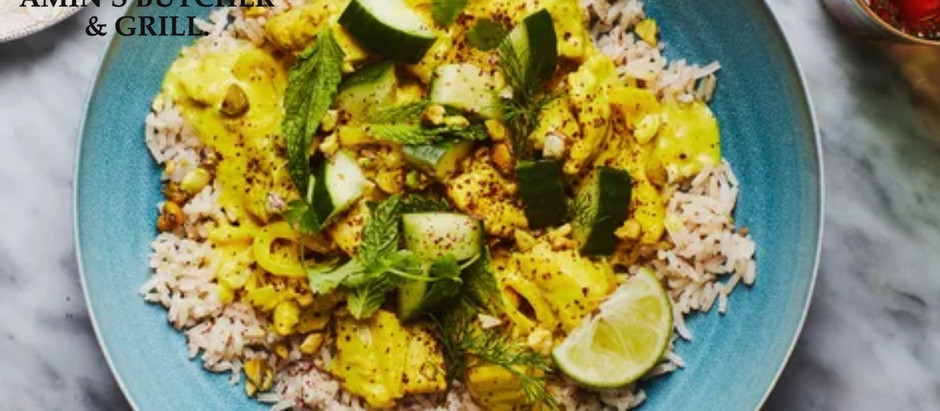 DELICIOUS PERSIAN CHICKEN (WITH TUMERIC AND LIME)