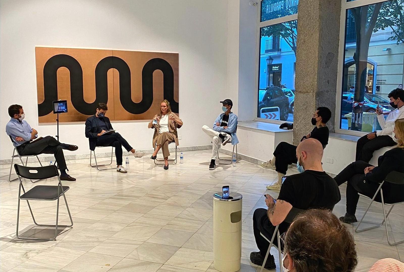 'RESET', conversación en la galería Fernando Pradilla