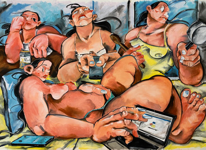 Las pinturas de Cristina Banban