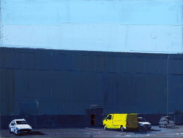 Angyalfold_Parkinglot_I._60x80cm_oilcanv