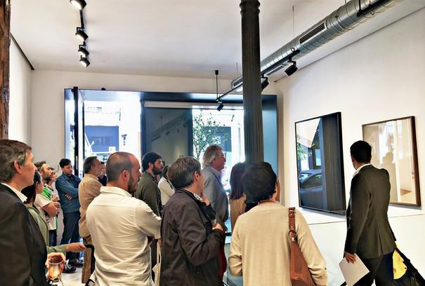 'Luz Materia', presentación de las obras por Jerónimo van Schendel