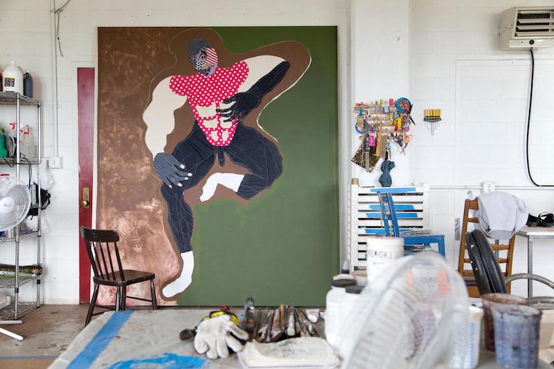 Berlin_Art_Link_Tschabalala_Self_studio6