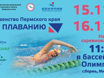 Первенство Пермского края по плаванию