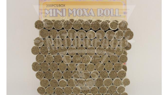 Moxa individual para aguja (200 pzs)