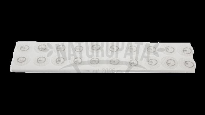 Tachuela de acero inoxidable con cinta transparente (20 pzs)