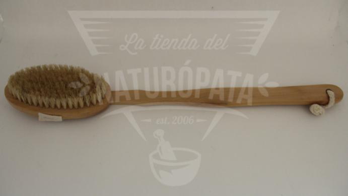 Cepillo de cerdas naturales largo