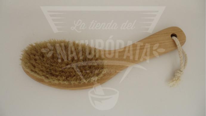 Cepillo de cerdas naturales corto