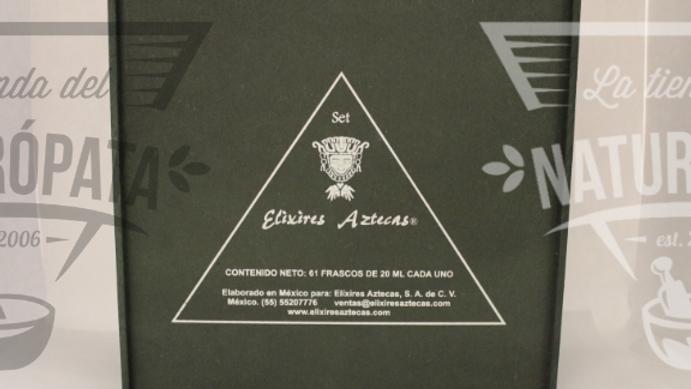 Set completo Elixires Aztecas