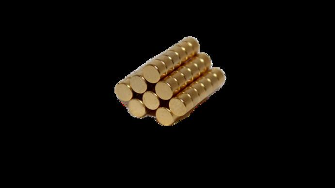 Imán de neodimio mini grueso (50 pzs)