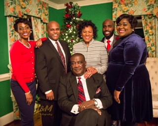 My Family: Image by Lechele Jackson, Photography by Lechele