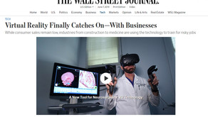Webcast about virtual reality learning