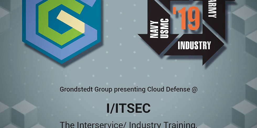 Presenting Cloud Defence at I/ITSEC 2019