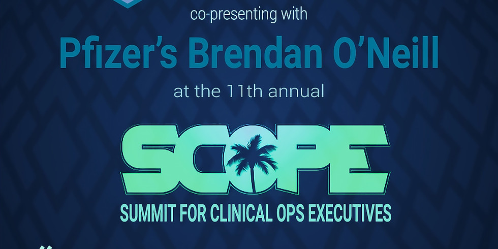 Gronstedt and Pfizer present at SCOPE