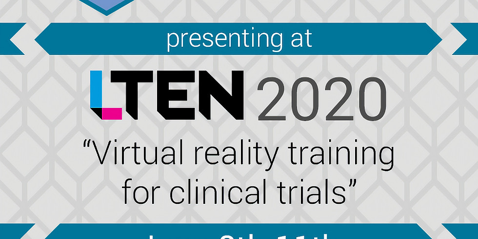 Speaking about VR training in Clinical Trials