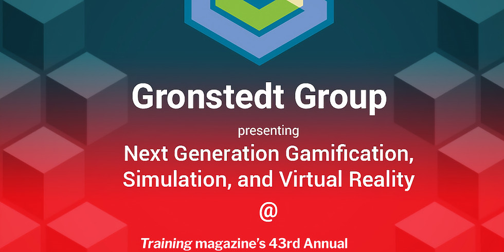 Next Generation Gamification, Simulation and Virtual Reality Learning