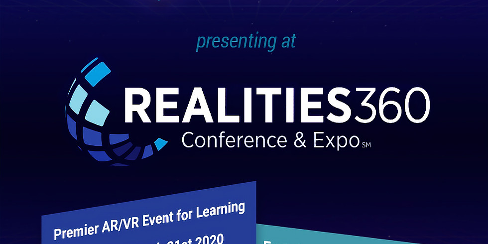Presenting at the Realities360 Conference