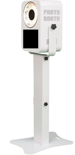 Photo booth equipment for parties and events.