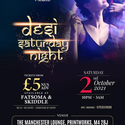 Desi Saturday Night !!- 2nd October 2021