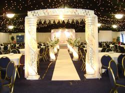 Manchester Hindu Wedding Mandap