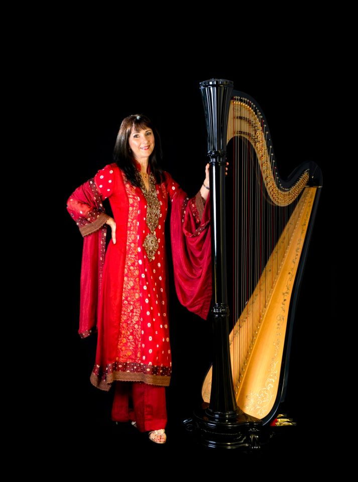 Bollywood Harpist Manchester