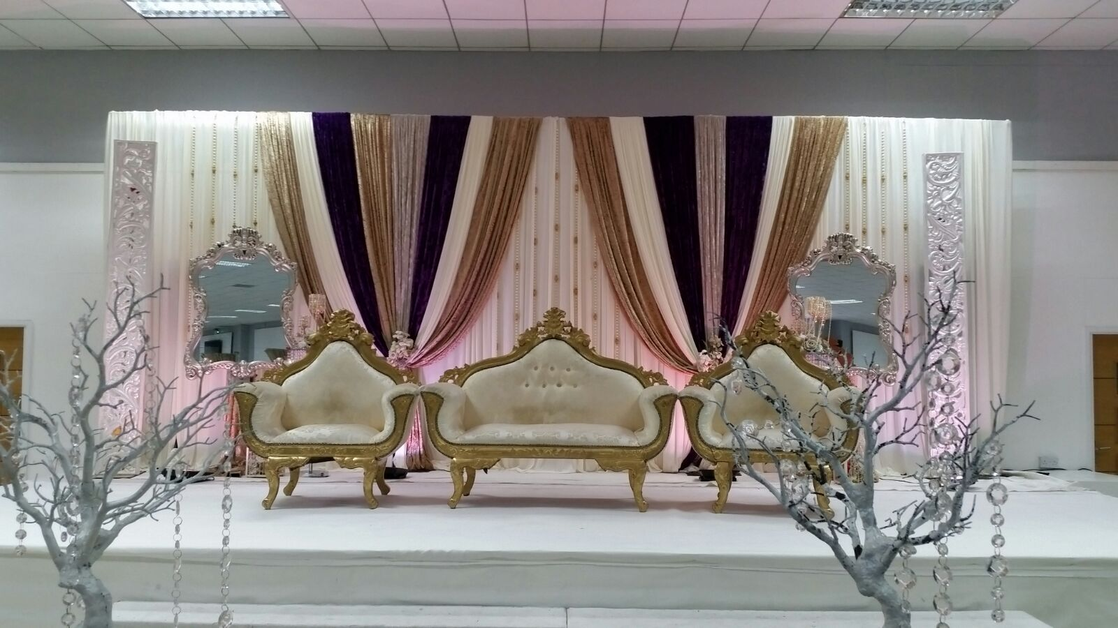 Asian Wedding Stage Liverpool