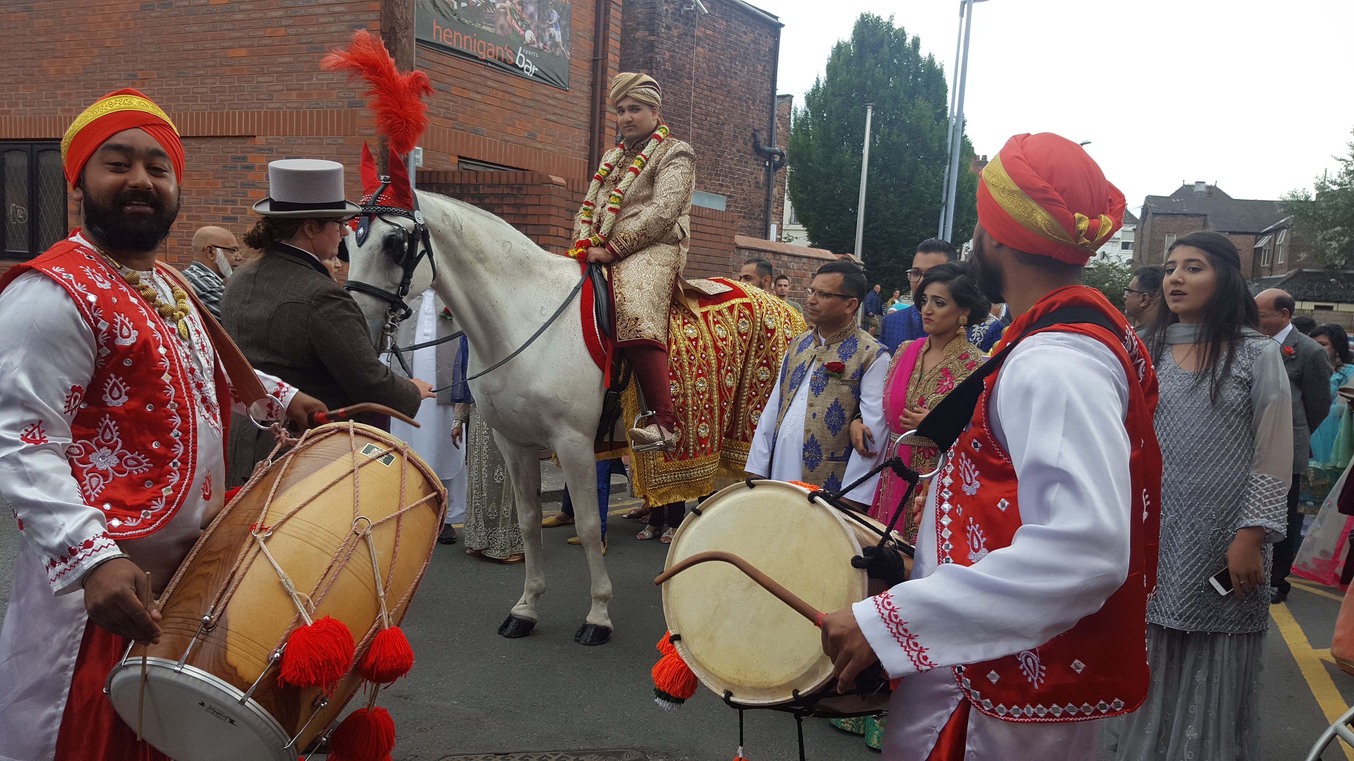 White Indian Horse