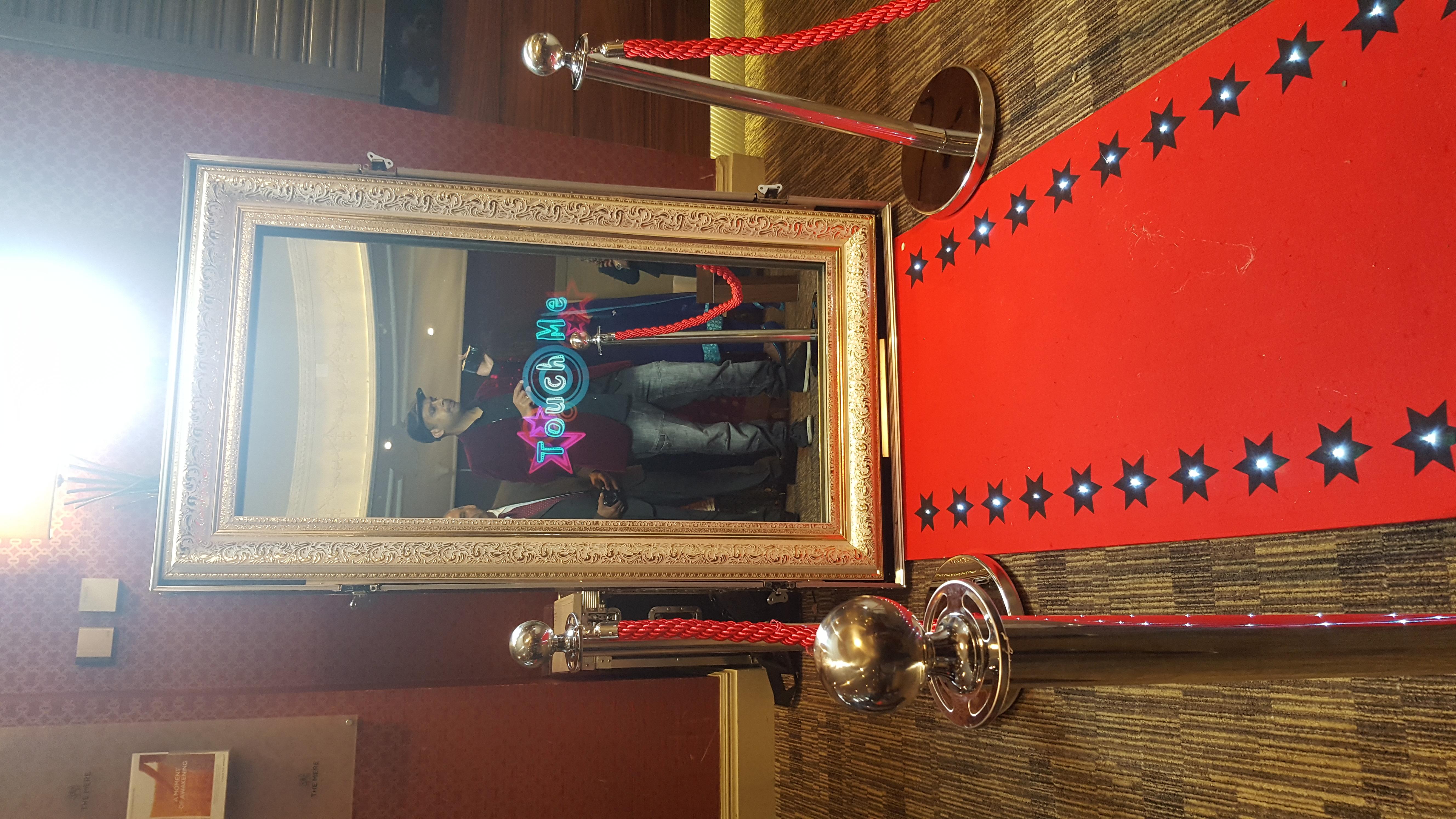 Selfie mirror manchester