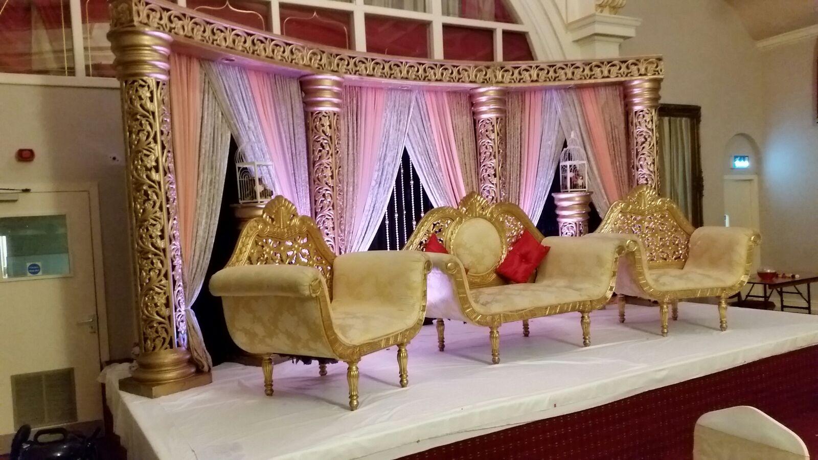Asian wedding Stage Dewsbury