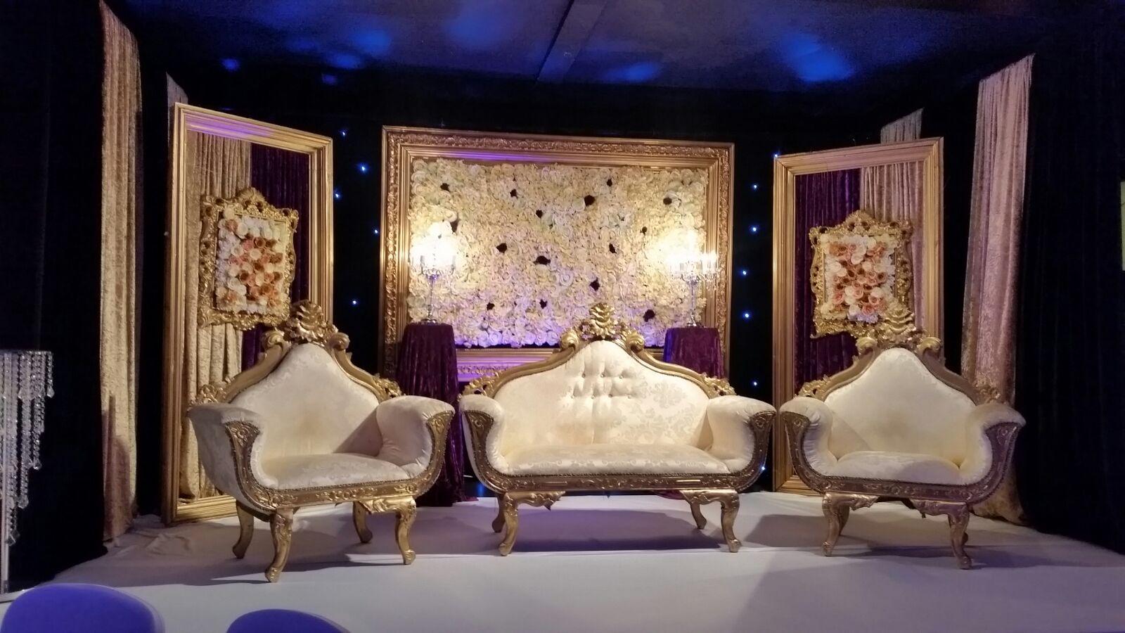 Flowerboard Wedding Stage Manchester