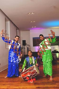 Manchester Bhangra dancers
