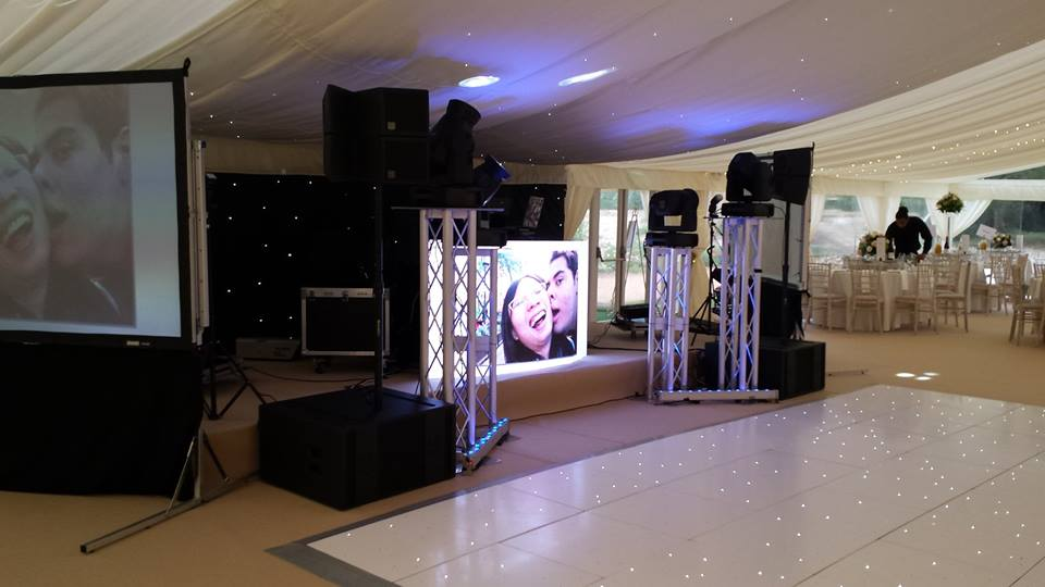 Elegant DJ Setup Asian Wedding Mcr