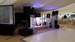Elegant DJ Setup Asian Wedding Mcr