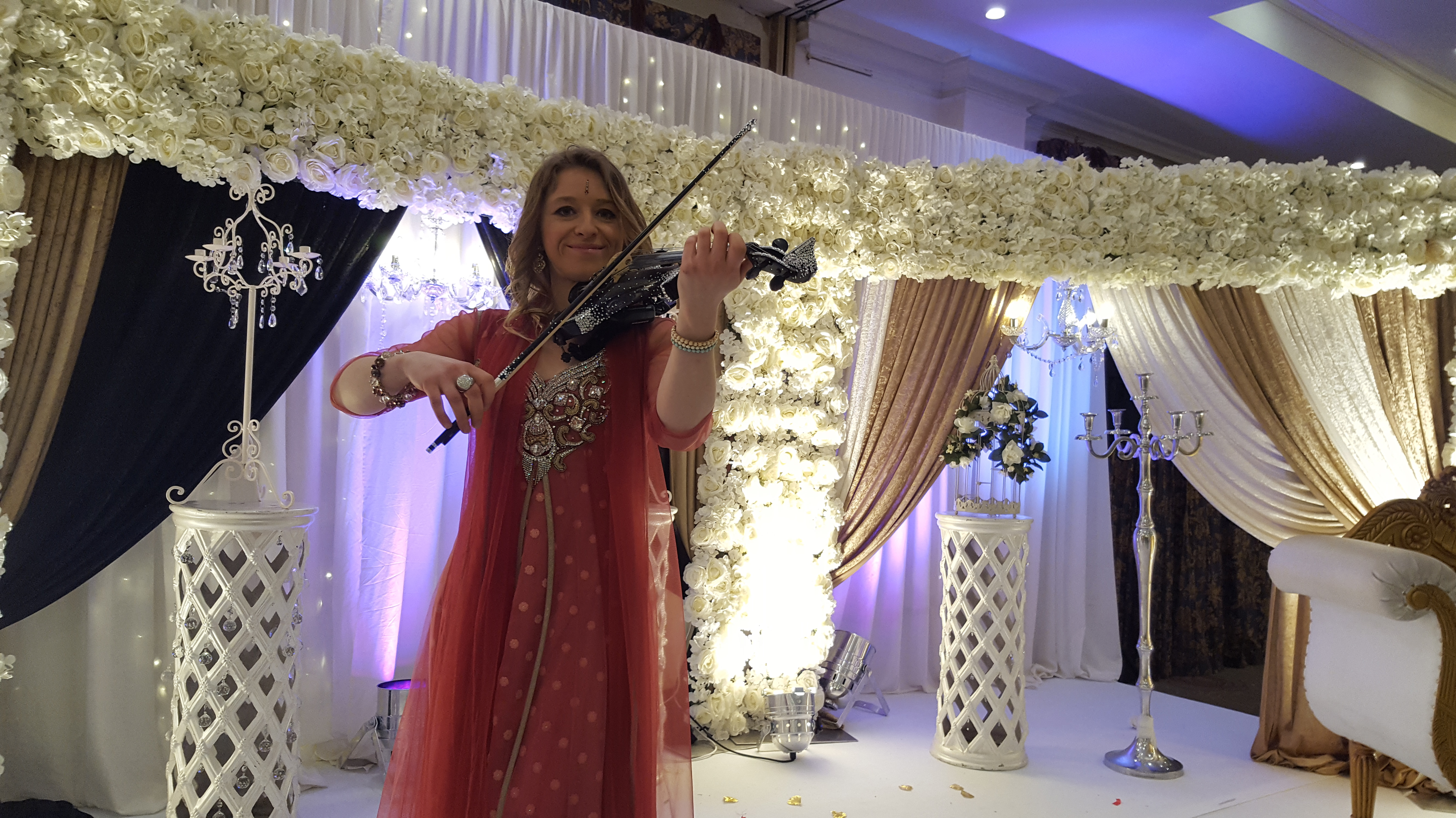 Bollywood Violinist Manchester