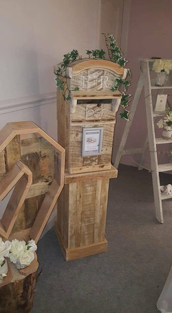 TAll Pillar Post Box