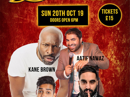 Desi Central - British-Asian Comedy Night Manchester!! Sunday October 20th 2019