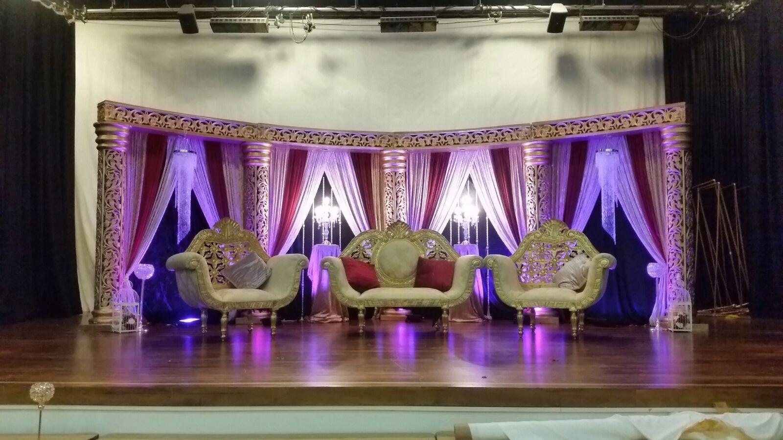 Asian Wedding Stage Preston