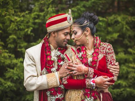 Priti & Kalpesh's Indian Wedding @ Hallmark Hotel