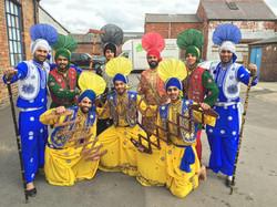 Bhangra Dancers Cheshire