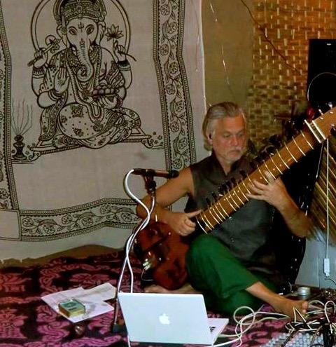 indian wedding sitar player