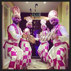 Bhangra Dancers & Dhol