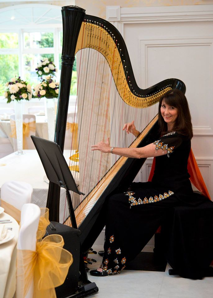 Harpist Asian Wedding Mcr