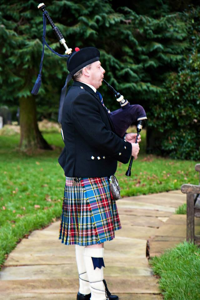 Bagpiper Manchester